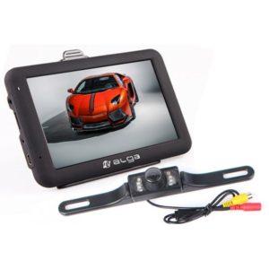 Kamera cofania z monitorem umożliwia łatwe i szybkie parkowanie