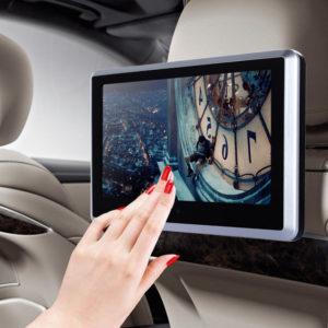 Jak zamontować monitor samochodowy na zagłówek?